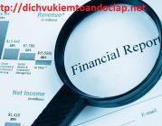 Trách nhiệm của kiểm toán độc lập với báo cáo tài chính
