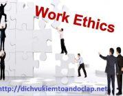Đạo đức nghề nghiệp trong nghề kiểm toán